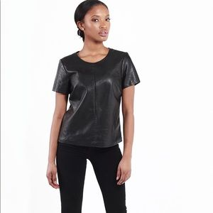 Express Pleather Top